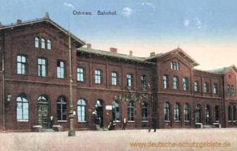 Ostrowo, Bahnhof