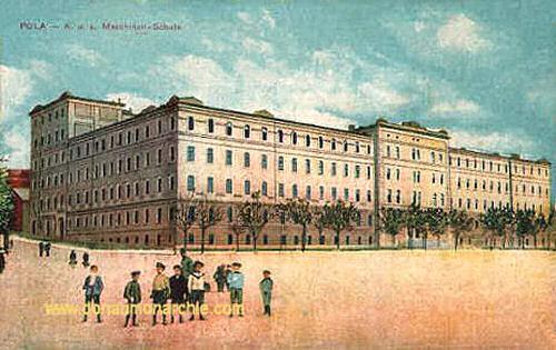 Pola, K.u.K. Maschinenschule