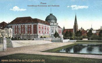 Posen, Ansiedelungs-Kommission und Petriekirche