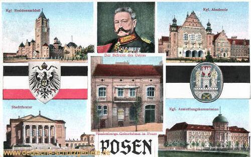 Posen, Hindenburgs Geburtshaus