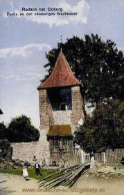 Rodach, an der ehemaligen Stadtmauer