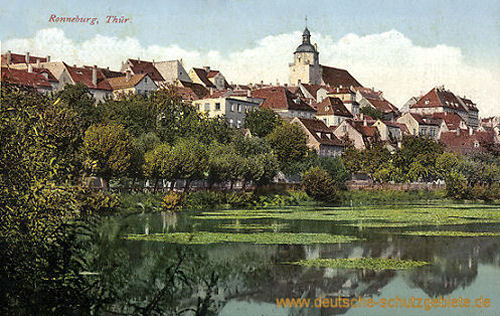 Ronneburg, Stadtansicht