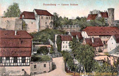 Ronneburg, Unterm Schloss