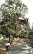 Rosslau, Alte Burg mit Rossel
