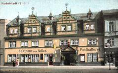 Rudolstadt, Gasthaus zum Adler, Posthalterei