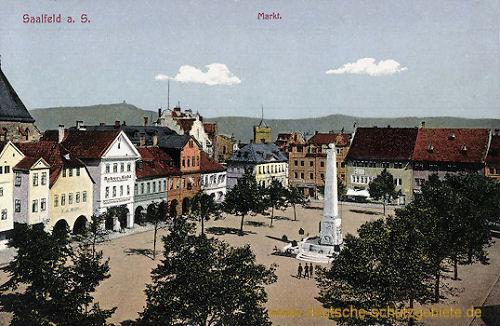 Saalfeld, Markt