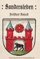 Sandersleben, Wappen