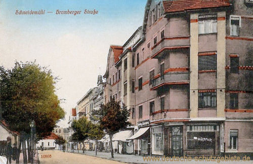 Schneidemühl, Bromberger Straße