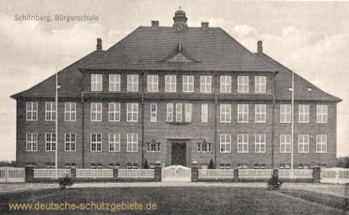 Schönberg i. M., Bürgerschule