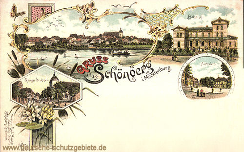 Gruß aus Schönberg in Mecklenburg