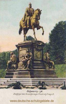 Schwerin i. M., Denkmal des Großherzogs Friedrich Franz II.
