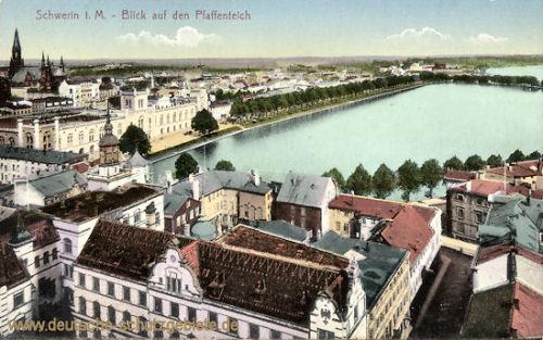 Schwerin i. M., Blick auf den Paffenteich