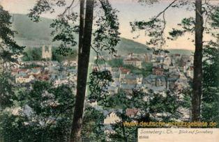 Sonneberg, Blick auf Sonneberg