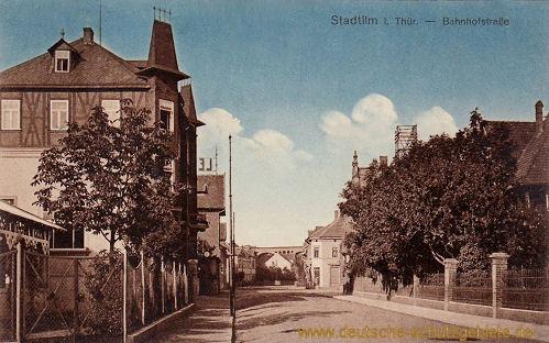 Stadtilm, Bahnhofstraße