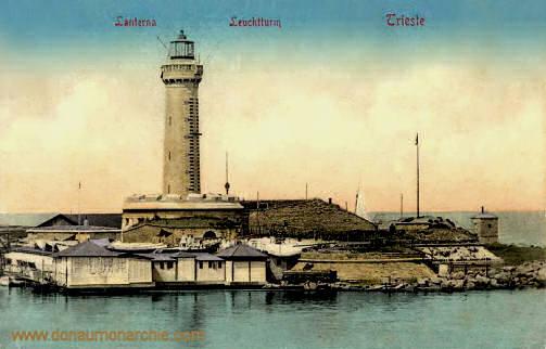 Trieste, Leuchtturm