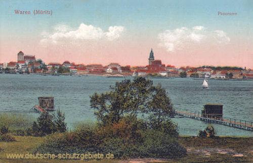 Waren (Müritz), Panorama