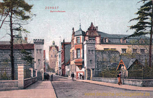 Zerbst, Bahnhofstraße