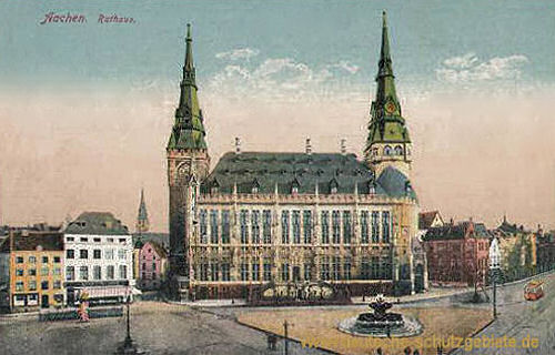 Aachen, Rathaus