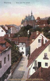 Altenburg, Blick nach dem Schloss