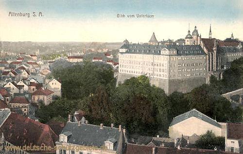 Altenburg, Blick vom Unterturm