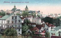 Altenburg, Gesamtansicht mit Schloss