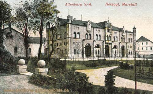 Altenburg, Herzogl. Marstall