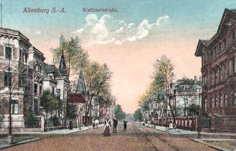 Altenburg, Wettinerstraße