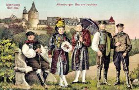 Altenburger Schloss, Altenburger Bauerntrachten