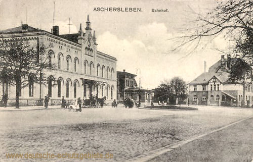 Aschersleben, Bahnhof