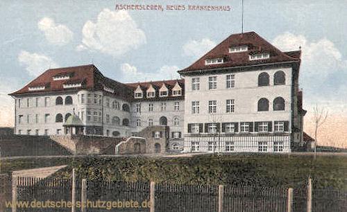 Aschersleben, Neues Krankenhaus