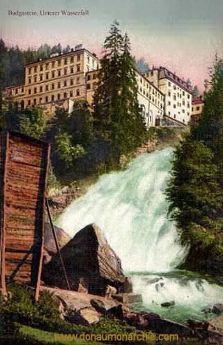 Bad Gastein, Unterer Wasserfall
