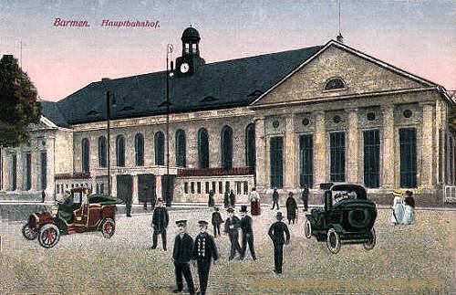 Barmen, Hauptbahnhof