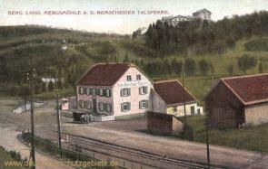 Bergisch Land, Mebusmühle an der Remscheider Talsperre