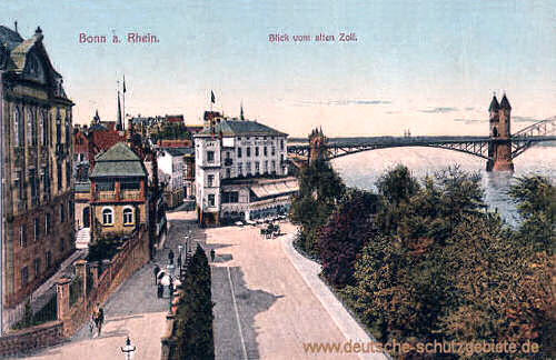 Bonn, Blick vom alten Zoll