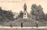 Burg b. M.,Kaiser Wilhelm-Denkmal