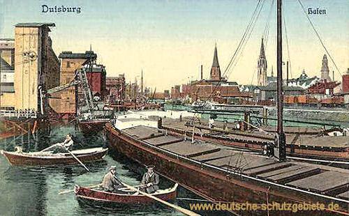 Duisburg, Hafen