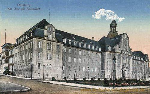 Duisburg, Königliches Land- und Amtsgericht
