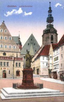 Eisleben, Lutherdenkmal