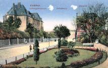 Eisleben, Luthergymnasium, Schlossplatz, Postamt