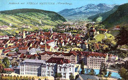 Feldkirch mit Stella Matutina