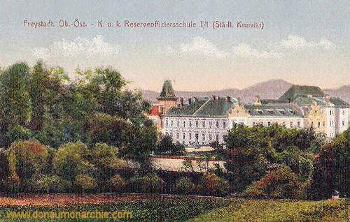 Freistadt Ob.-Öst.., K. u. k. Reserveoffiziersschule
