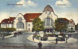 München-Gladbach, Hauptbahnhof