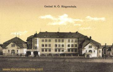Gmünd in Niederösterreich, Bürgerschule