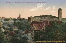 Halle, Burg Giebichenstein und Cröllwitzer Brücke