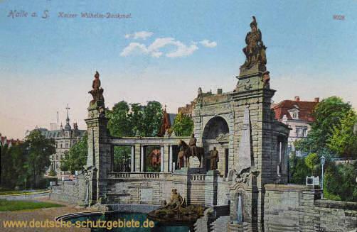 Halle, Kaiser Wilhelm-Denkmal