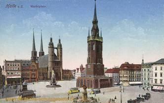 Halle, Marktplatz