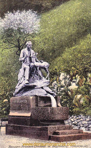 Kapfenberg, Rosegger-Brunnen-Denkmal