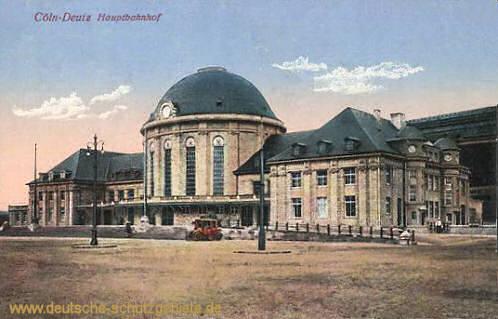 Köln-Deutz, Hauptbahnhof