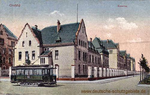 Krefeld, Kaserne