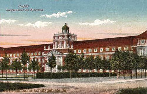 Krefeld, Realgymnasium am Moltkeplatz